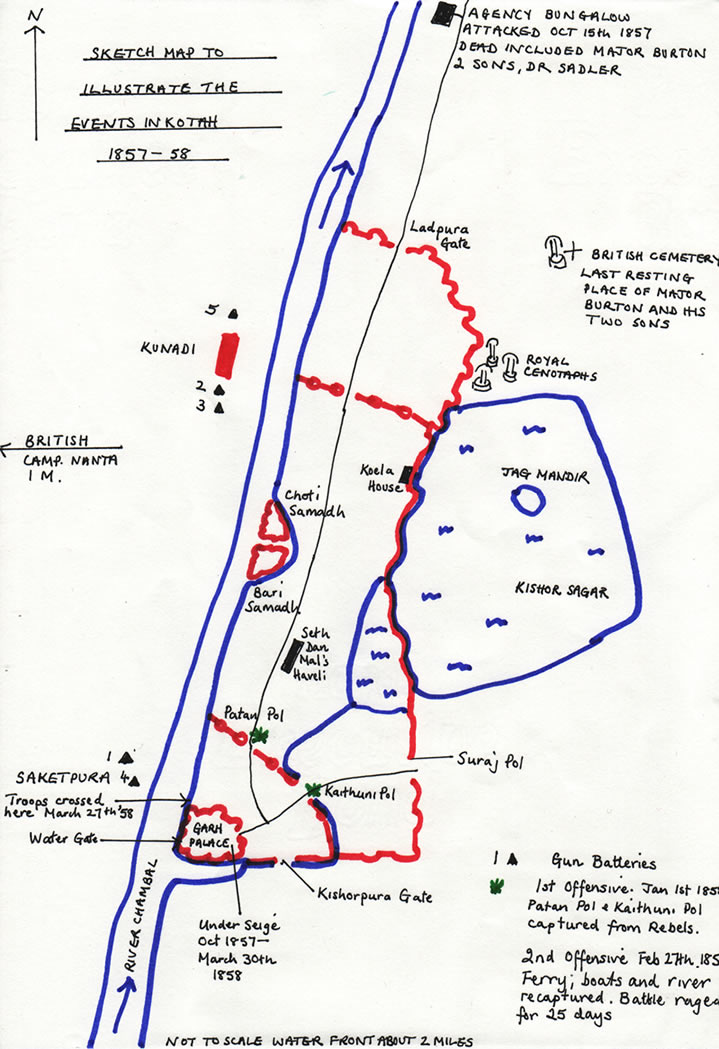 Sketch of the 1858 Offensive