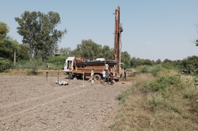 Drilling a Borewell