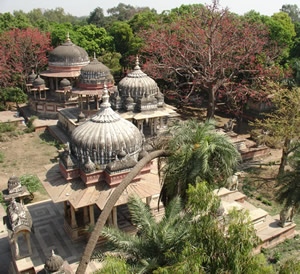 Ksharbagh (Garden of Ashes) - Cenotaphs of Former Rulers of Kotah