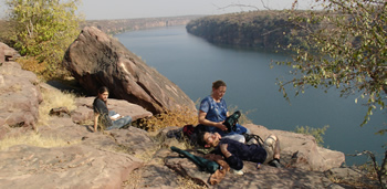 Picnic on Chambal Bank
