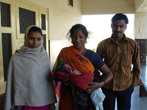 Sugna and family