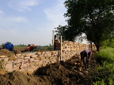 The Great Wall of Umedganj